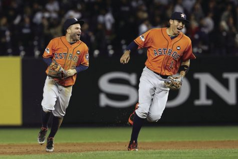 The Houston Astros franchise has yet to capture its first World Series ring, but its dynamic middle infield combination of Jose Altuve and Carlos Correa have it the closest it has been in history.