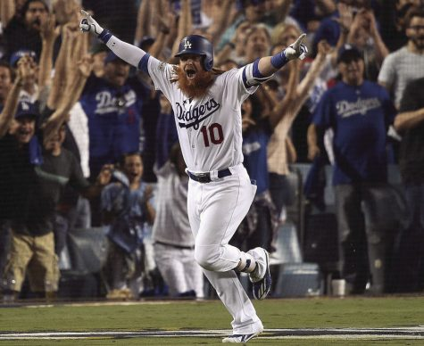 Justin Turner launched a walk-off three-run home run in Game 2 of the NLCS, giving his Los Angeles Dodgers a 2-0 lead over the Chicago Cubs. Turner, known for his batting average, has shown power in the postseason as well.