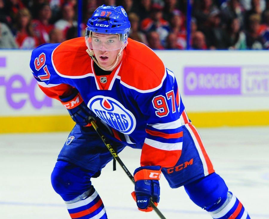 20-year-old Edmonton Oilers star Connor McDavid hopes to top his 2016-17 season, in which he took home the Art Ross Trophy (most points), Ted Lindsay Trophy (best player in the regular season) and Hart Memorial Trophy (MVP).