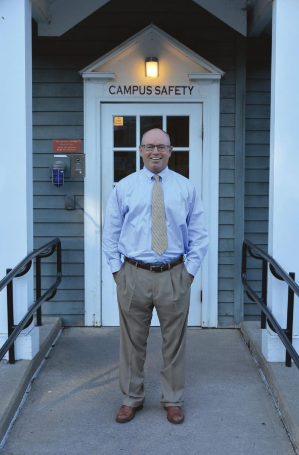 Dan Gough, pictured above, currently oversees the Department of Campus Safety. Gough's goal is to build trust with the Colgate community and create a more student-centered approach.