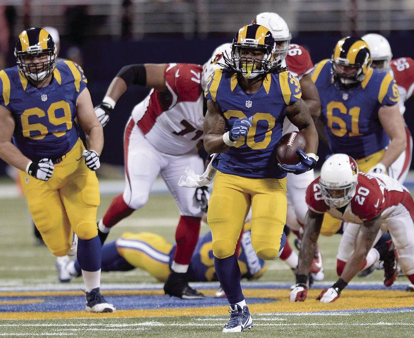 Todd Gurley has the newly located Los Angeles Rams sitting at the top of its division with a 5-2 record.  Heading into the halfway point of the NFL season, things have not gone as expected and anything can happen going forward.