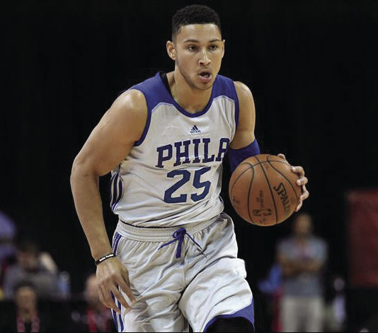 Ben Simmons is eligible for the ROY Award because of injuries lastseason. So far, he's the clear front-runner.