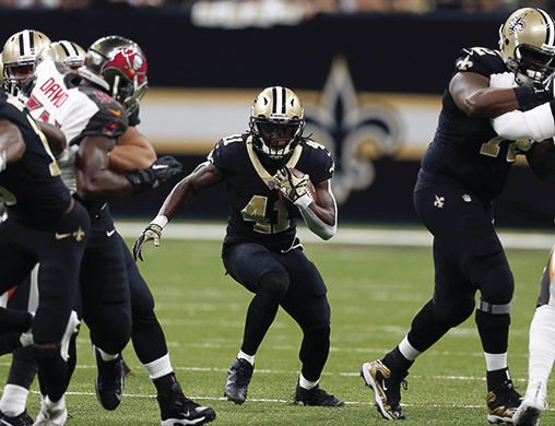 The New Orleans Saints, currently on a seven-game win streak, have received valuable support from Alvin Kamara. The rookie running back is leading the league in yards per carry and is developing as a top target for Drew Brees.