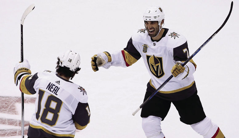 The Vegas Golden Knights have taken advantage of home ice to start the season, winning six of seven games. Now, the Knights will be tested on the road during their six game east coast trip.