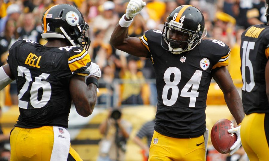 Arguably the top wide receiver and running back combo in recent NFL history, Antonio Brown and Le'Veon Bell have the Steelers atop the AFC North and primed for a deep playoff run.