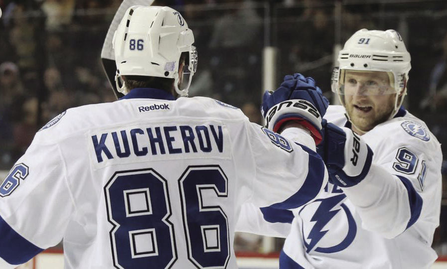 With a top line of Nikita Kucherov, Steven Stamkos and veteran Chris Kunitz, the Lightning has the NHL's best offense. Kucherov leads the league in points and is a potential Art Ross and Hart Trophy winner this season.