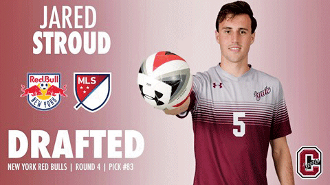 Senior midfielder, three time All- Patriot League pick and two time Patriot League honoree Jared Stroud will be playing for the NY Red Bulls next season.