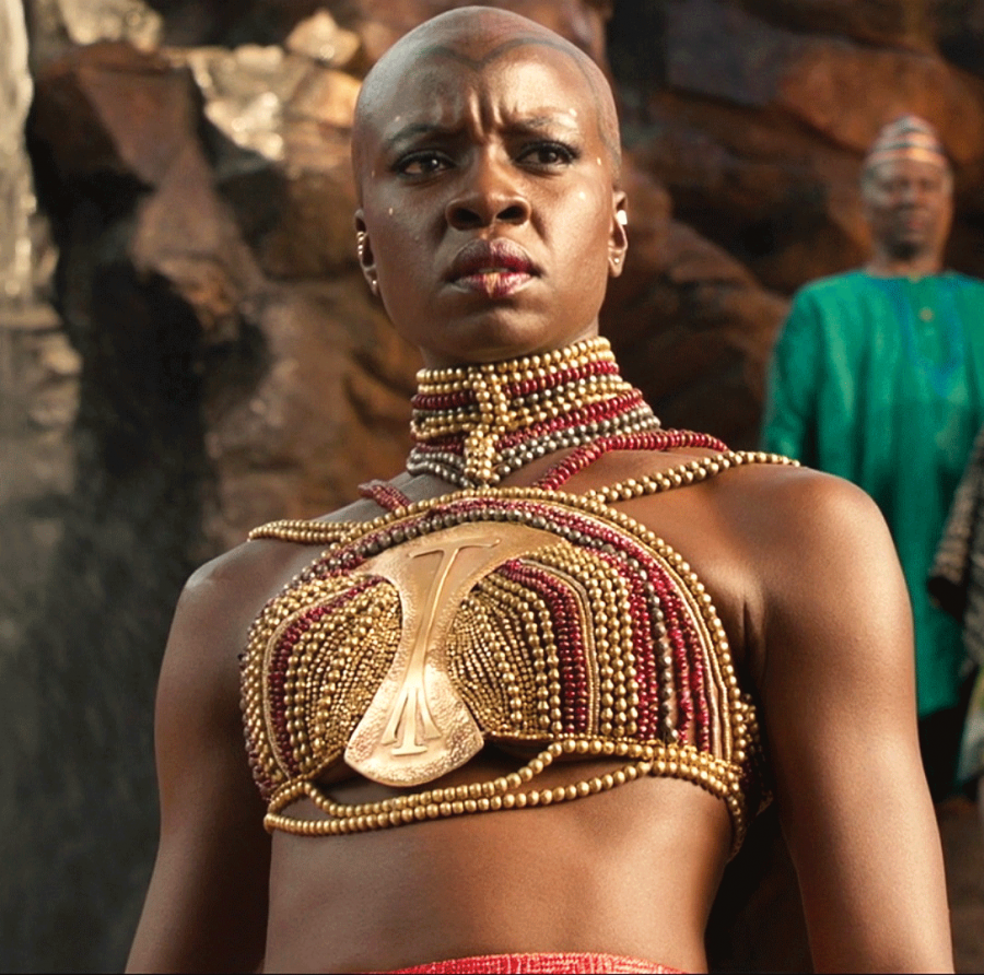 The Maasai tribe was used as inspiration for the beadwork seen throughout the movie.