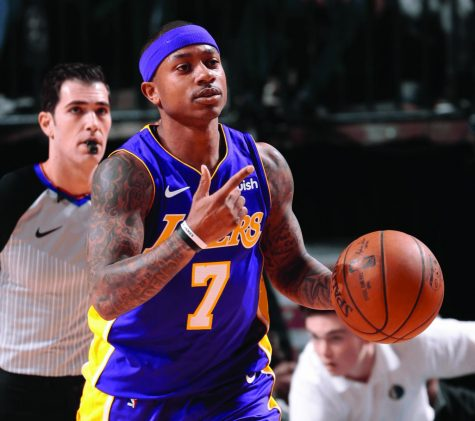 Isaiah Thomas is an unrestricted free agent next season, but the Lakers did not give much for this rental.