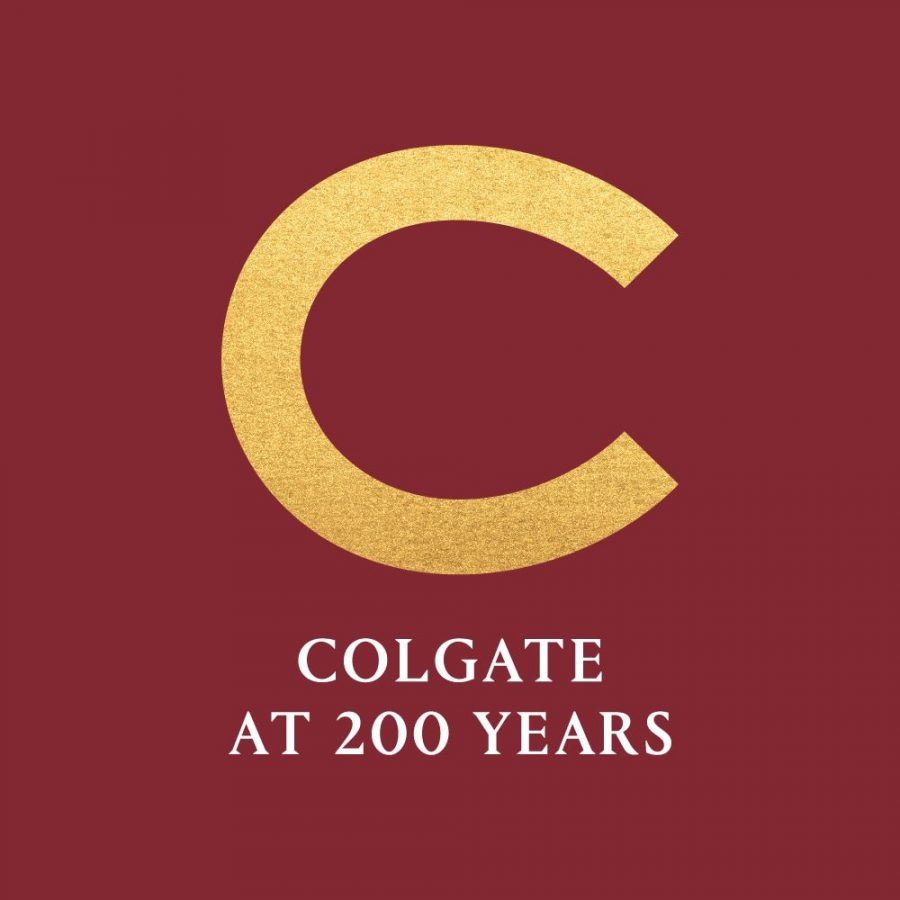 """This """"C"""" used for bicentennial celebrations comes from old Colgate yearbooks."""
