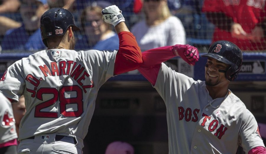 J.D.+Martinez+and+Xander+Bogaerts+have+led+the+dynamic+Boston+Red+Sox+offense%2C+as+the+team+clinched+the+A.L.+East+Division+for+the+third+consecutive+season.+The+Sox%2C+with+106+wins+as+of+Sept.+25%2C+hope+to+have+continued+success+in+October.