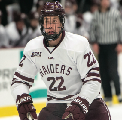 Sophomore Tyler Jeanson provided an assist in Colgate's 2-1 win over New Hampshire on Oct. 12. He will look to improve on his 11 points from last season.