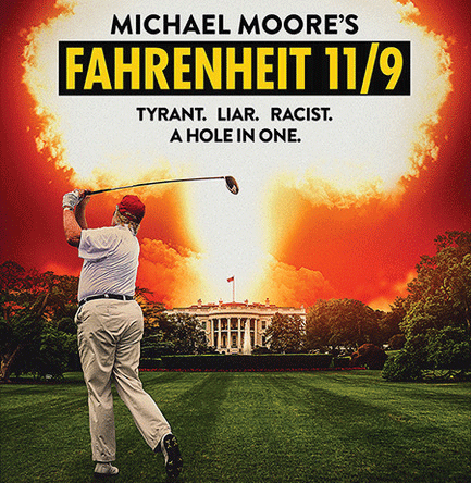 A new documentary by Michael Moore showcases distaste for the Trump presidency and parallels the reality of our current political culture.