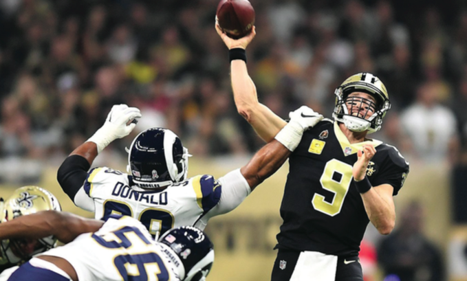 New Orleans Saints Quarterback Drew Brees Makes a Case for MVP