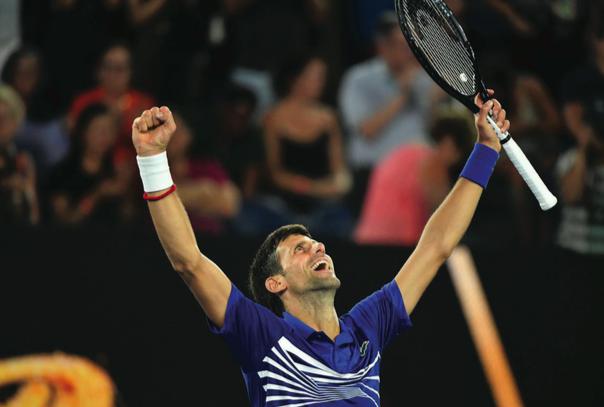 Djokovic Delivers Historic Performance