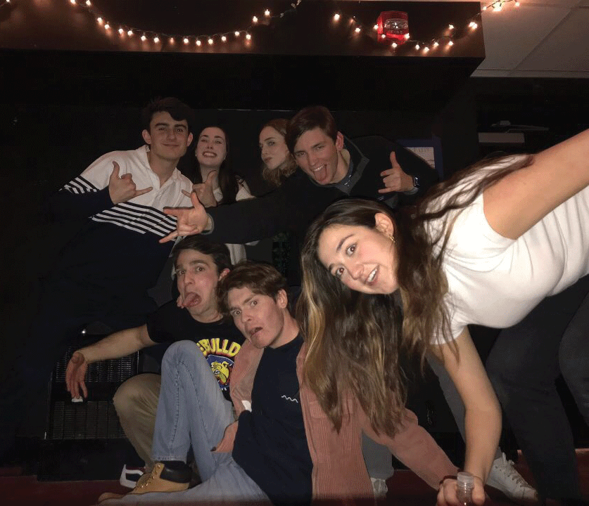 Colgate's improv comedy group, Charred Goosebeak, took to the stage on January 31 for their first show of the semester.