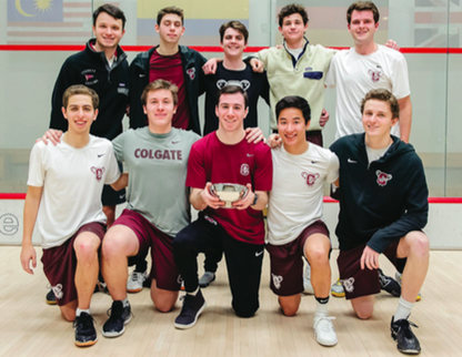 Colgate Club Squash Takes Hawthorn Cup