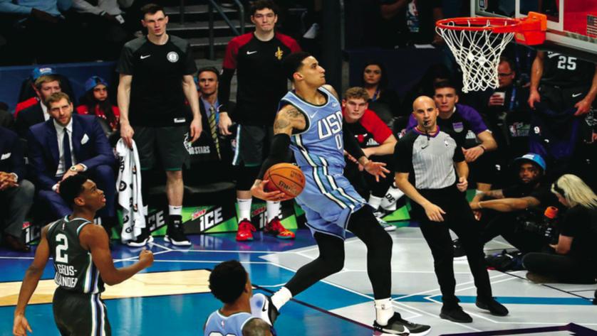 Kyle Kuzma Named MVP of NBA Rising Stars Game