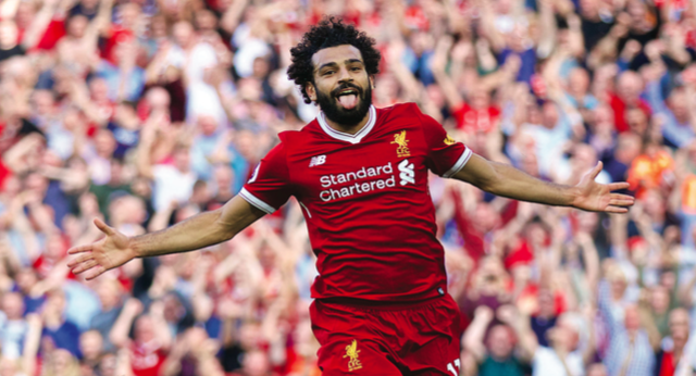 Liverpool winger Mohamed Salah (above), who leads the team in goals scored this season, will be relied upon heavily by the club and coach Jurgen Klopp as they head into UEFA Champions League play this spring.