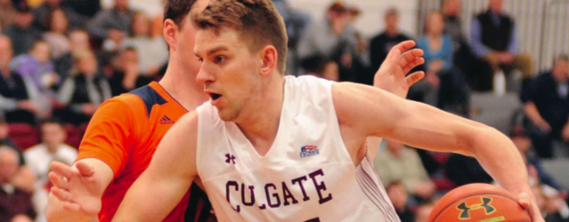 The Raiders defeated Bucknell in a rematch of last years Patriot League title game, 75-64.