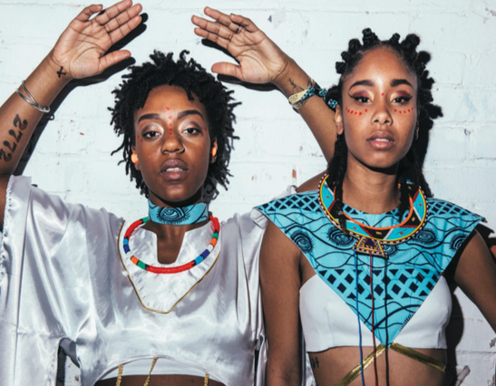 OnThursday,February13, The Mat hosted Brooklyn-based duo Oshun for an energetic concert in Parker Commons.
