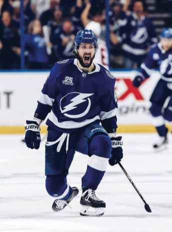 Led by forward Nikita Kucherov (above), the Tampa Bay Lightning have quickly risen to the top of the Eastern Conference in the NHL.