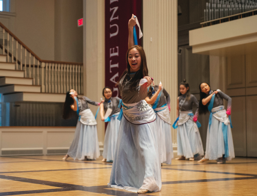 Memorial Chapel Shakes with Dancefest