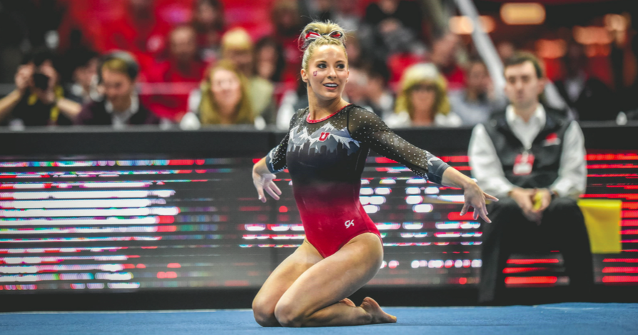 MyKayla Skinner, a 22-year-old gymnast who competed collegiately for the Utah Utes, has decided to take her talents to the next level and enter into the olympic team trials, where she will contend for a spot on the U.S. team in Tokyo in 2020.