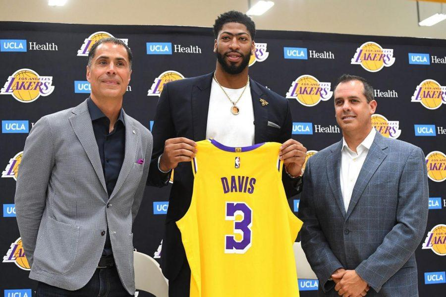 Anthony Davis to the Lakers