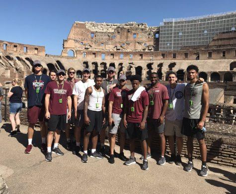 Men's Basketball Takes Italy