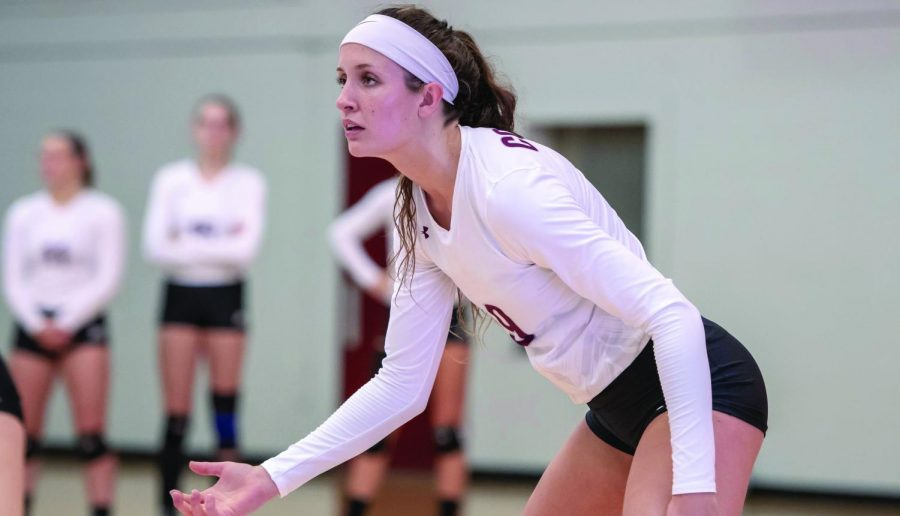 Alex Stein and Womens' Volleyball on Hot Streak