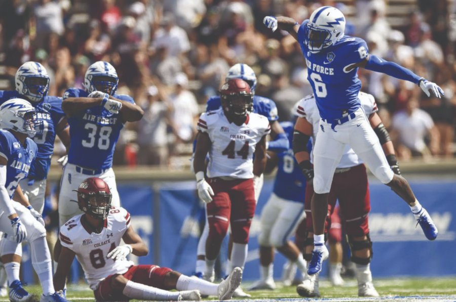 Colgate Takes on Air Force