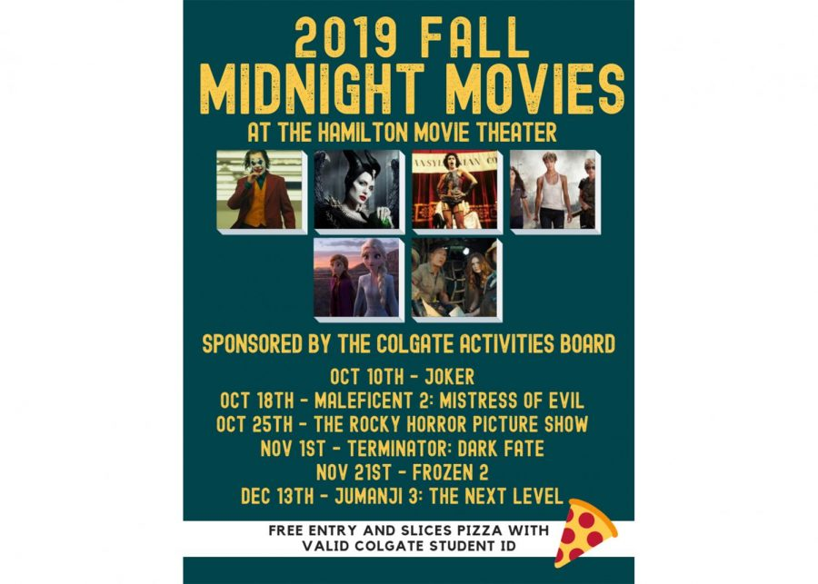 2019 Fall Midnight Movies