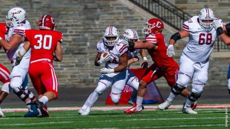 Colgate Football Takes First Win