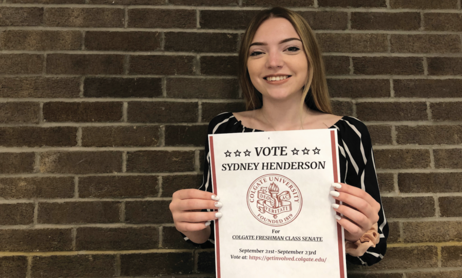 Sydney Henderson Votes on Constitution