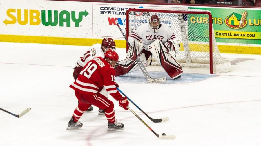 Men's Hockey Against Miami