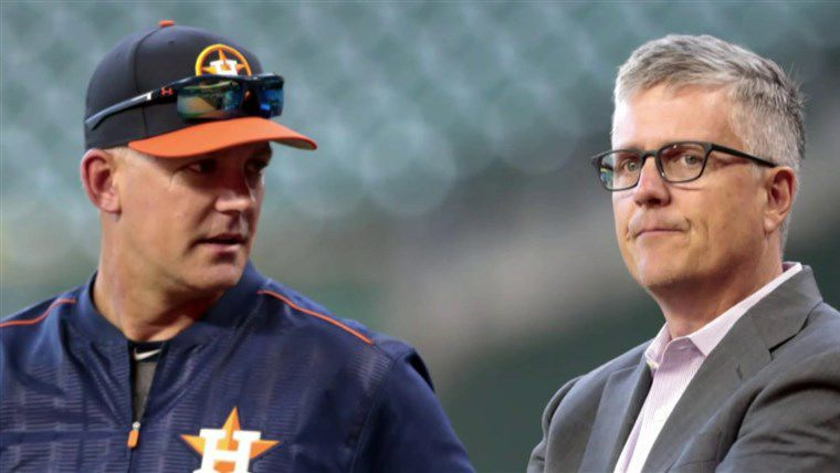 Astros GM and Manager Suspended and Fired