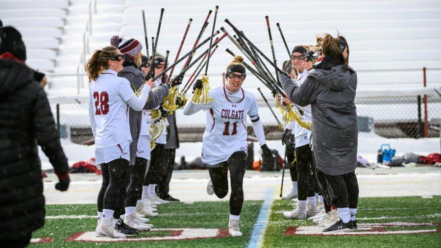 Women's Lacrosse Takes UVM