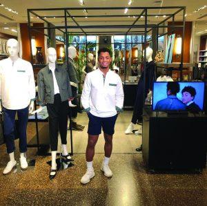Banana Republic in New York's Rockefeller Center Features Colgate Alumnus' Clothing Line