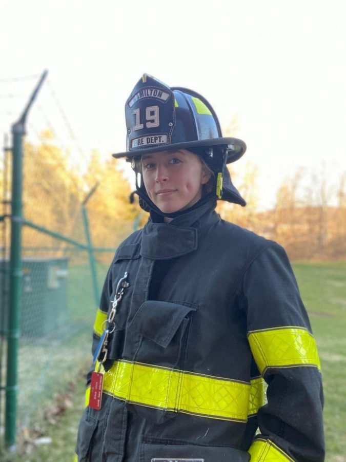Baker's Dozen: Sophomore Kylie Geer Stays Behind to Volunteer for HFD