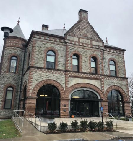 Colgate Admissions Building, James B Colgate Hall