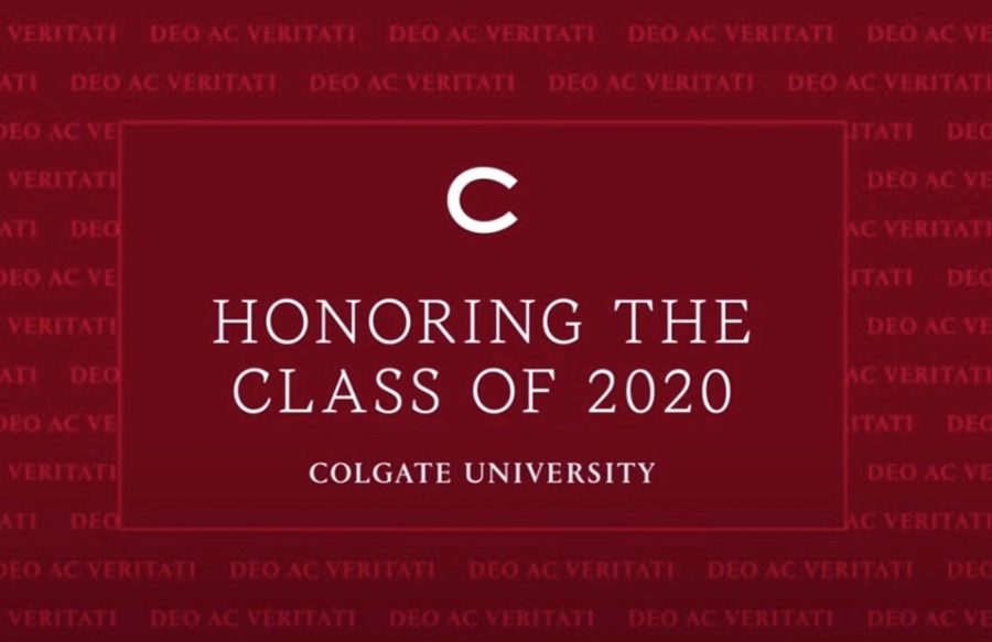 University+President+Brian+Casey+conferred+degrees+to+the+Class+of+2020+on+May+17+over+livestream+on+the+University%27s+YouTube.