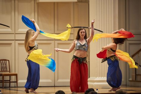 Arts traditions including Dancefest, that draws crowds filling the Memorial each semester, must make drastic changes amid the pandemic regulations on campus.