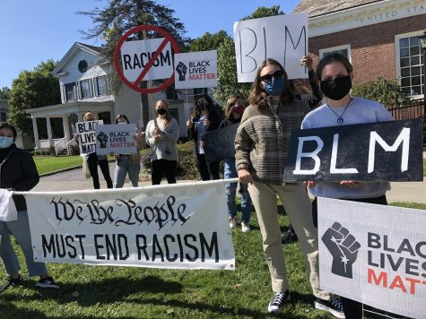 Hamilton Community Members Protest for Racial Justice