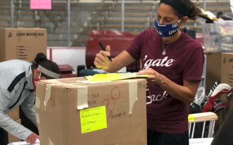 Athletics Staff Deliver Meals, Help Reopening Efforts During Quarantine
