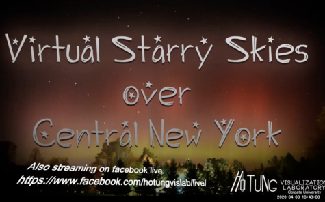 Virtual Starry Skies Still Twinkle Through Zoom