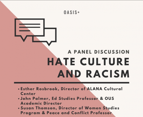 OASIS+ and Faculty Panel Discuss the State of Hate Culture and Racism on Campus