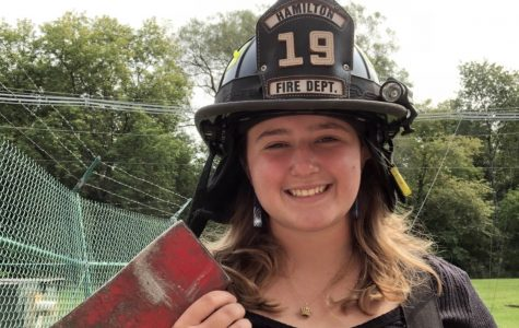 Willa King Spends Summer with the Hamilton Fire Department