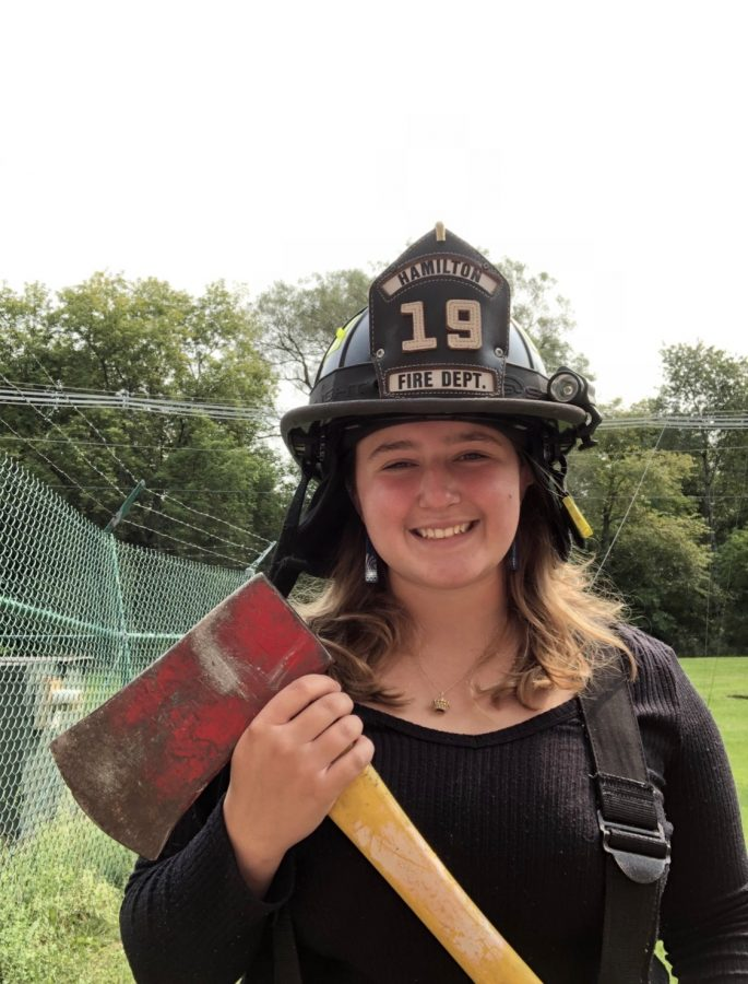 Willa+King+Spends+Summer+with+the+Hamilton+Fire+Department