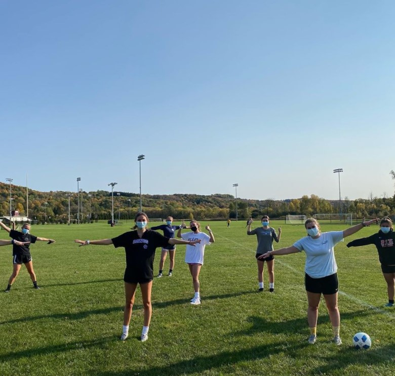 Club Sports Teams Return to Practice With New Protocols